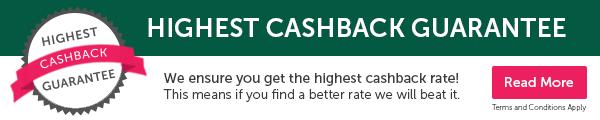Highest Cashback Guarentee