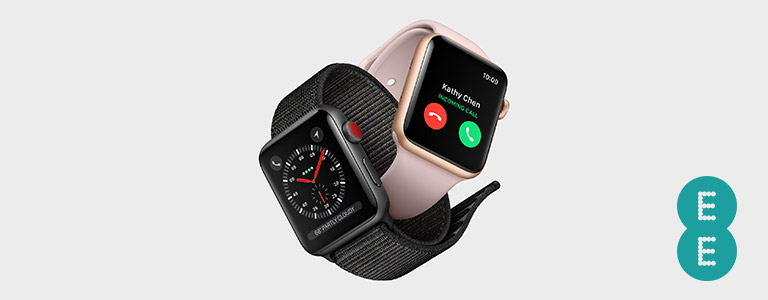 Apple Watch Series 3 with EE