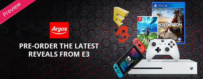 E3 Preview Blog sponsored by Argos
