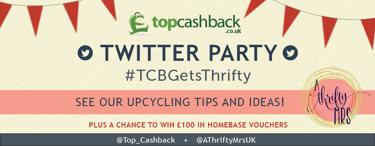 A Thrifty Mrs Upcycling Twitter Party