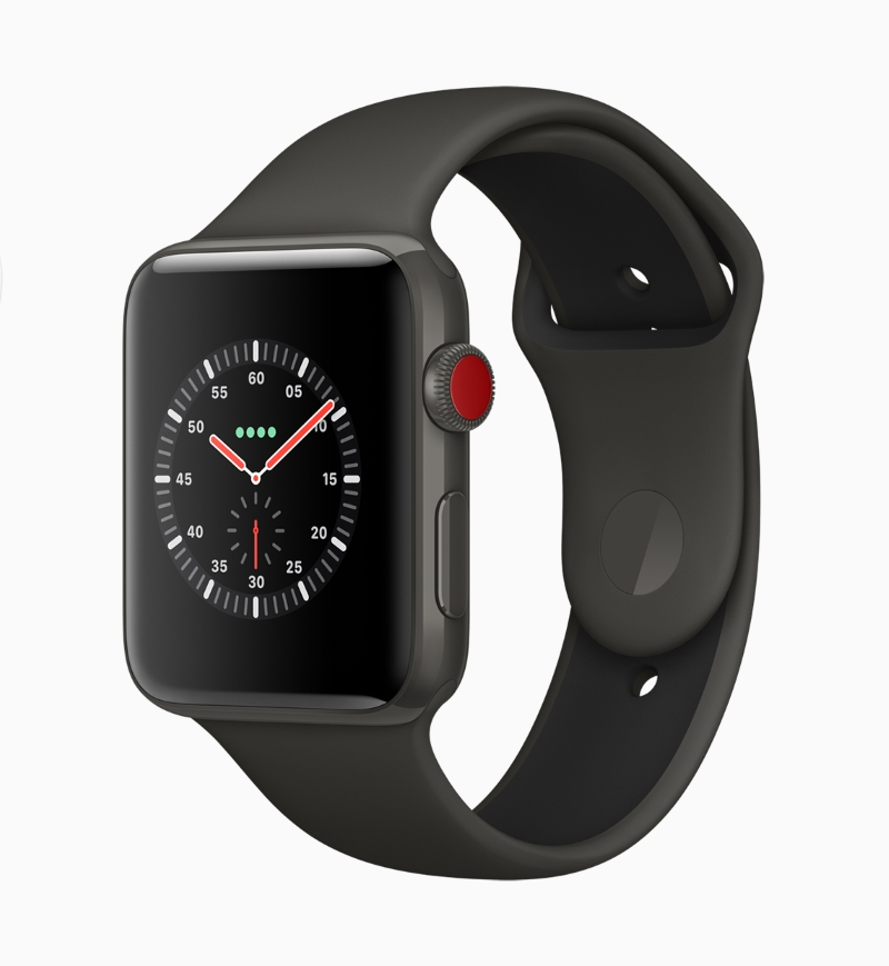 Apple Watch Series 3 in Ceramic Black