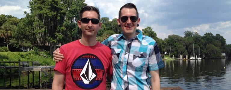 Mark & Iain used their cashback to pay for their honeymoon