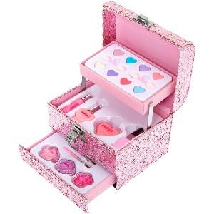 Pink Glitter Make-up Set