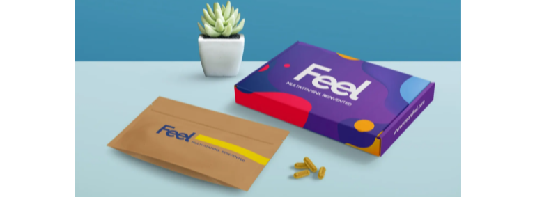 Sign up to Feel and get 12% cashback