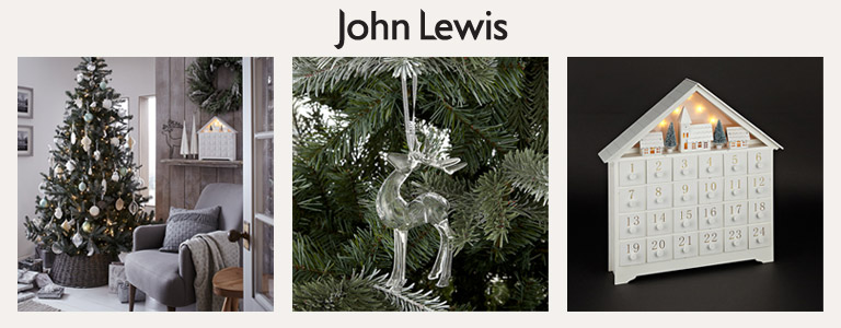 Christmas decorating with john lewis John lewis home design ideas