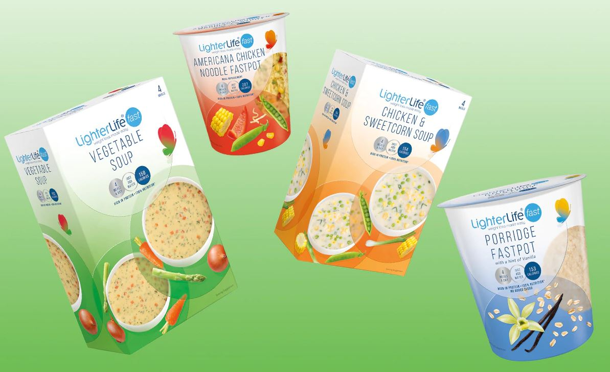 LighterLife Fast Soups and Fastpots