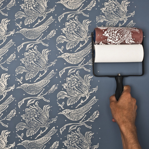How to create your own wall paper effect