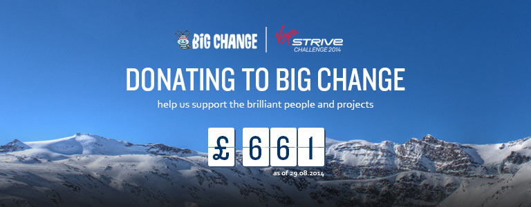 Strive Challenge Facebook Counter
