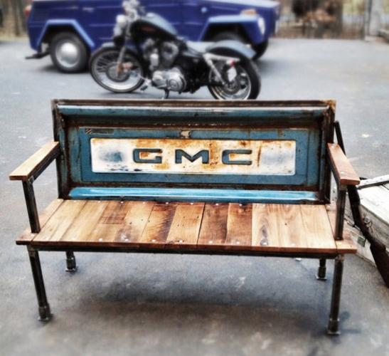 TailgateGMC Bench Upcycling