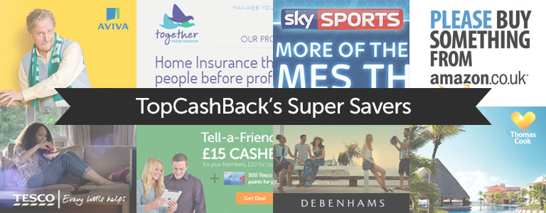 TopCashback Super Savers