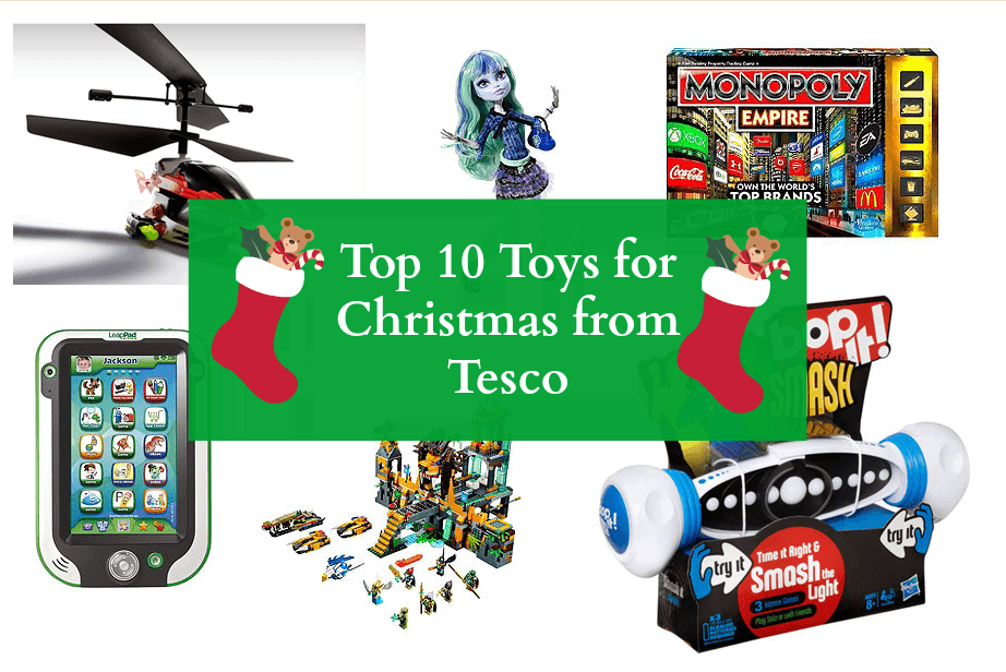 Top Ten Toys for Christmas