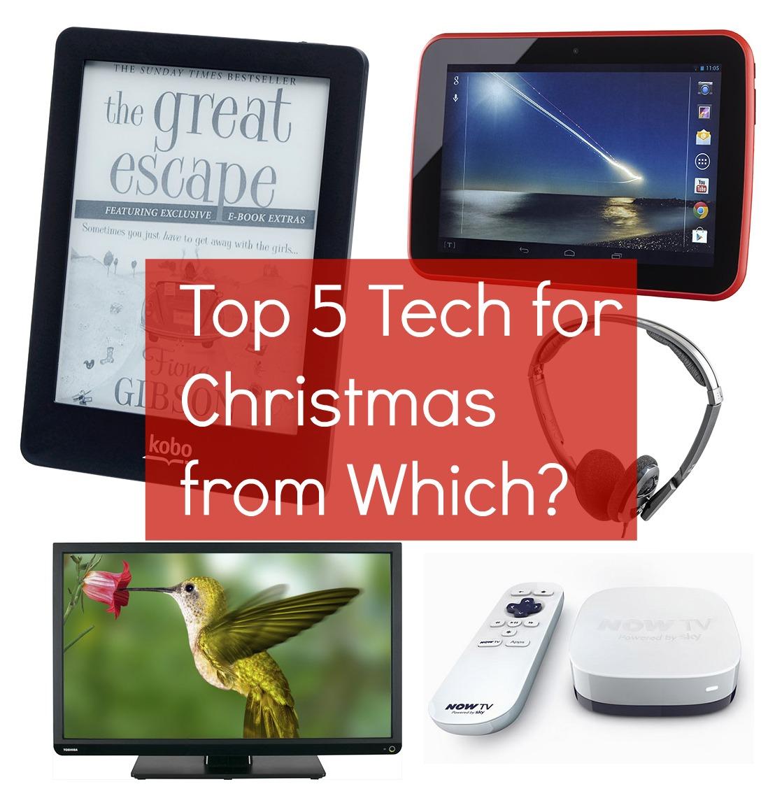 Top 5 Tech for Christmas