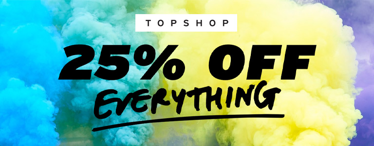 Topshop Black Friday Blog
