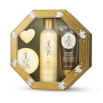 Vanilla Bliss Shower, Scrub and Moisture Collection