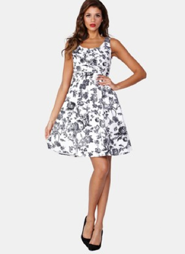 Very Floral Dress