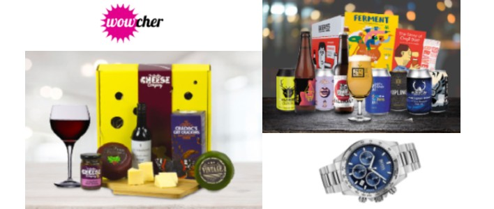 wowcher for him gifts