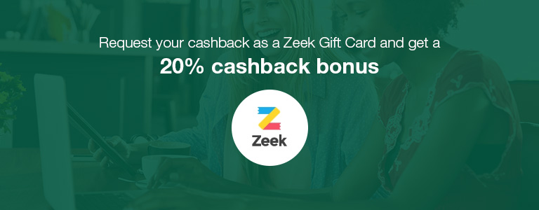 Zeek Payout Bonus