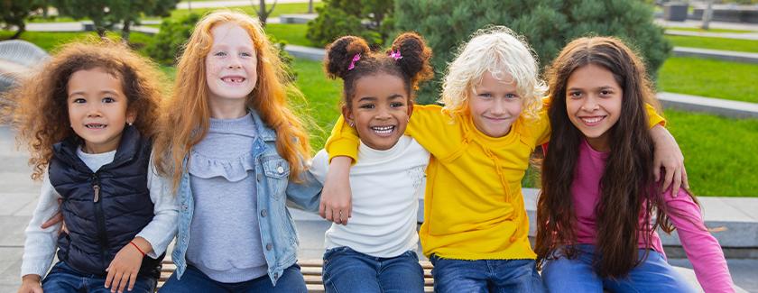 Happy Children at Half Term