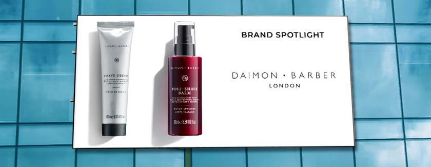 Daimon Barber Brand Spotlight Blog Banner