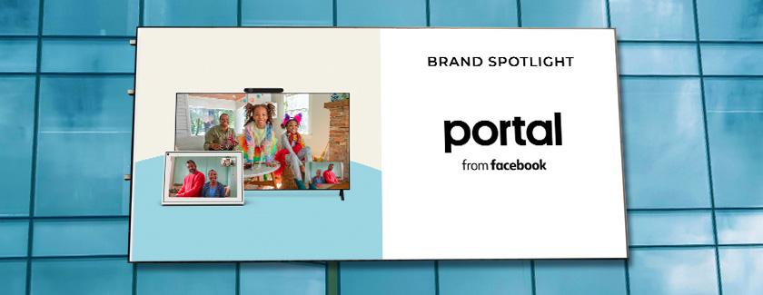 Portal from Facebook Brand Spotlight Blog Banner