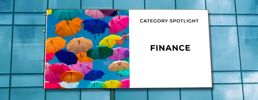 Finance Category Spotlight Blog Banner