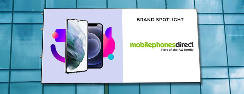 Mobile Phones Direct Brand Spotlight Banner