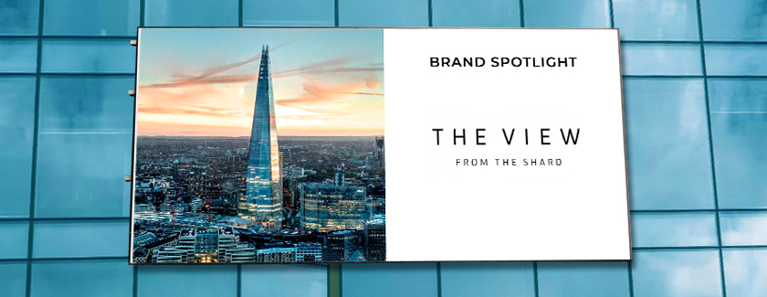The View from The Shard Brand Spotlight Blog Banner