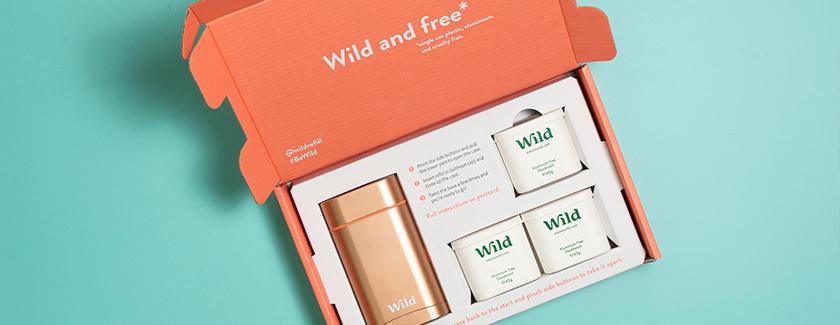 Wild Natural Deodorant Blog Banner