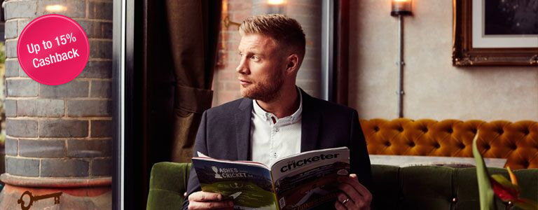Andrew Flintoff With his New Line of Clothing
