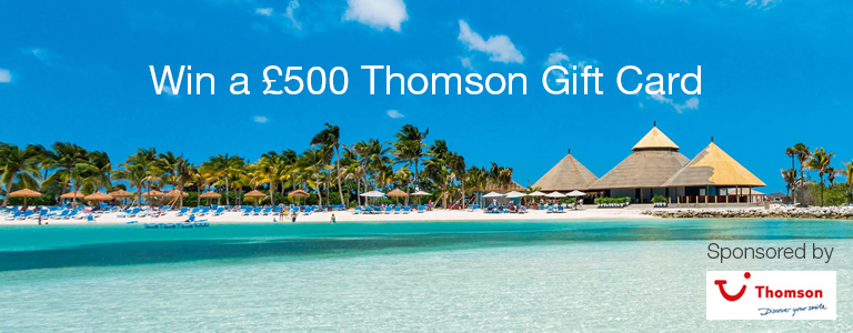 Thomson Holiday Competition