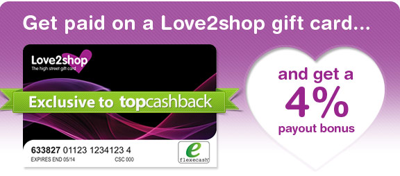 Our Blog Get Paid On A Love2shop Gift Card Plus Receive A 4