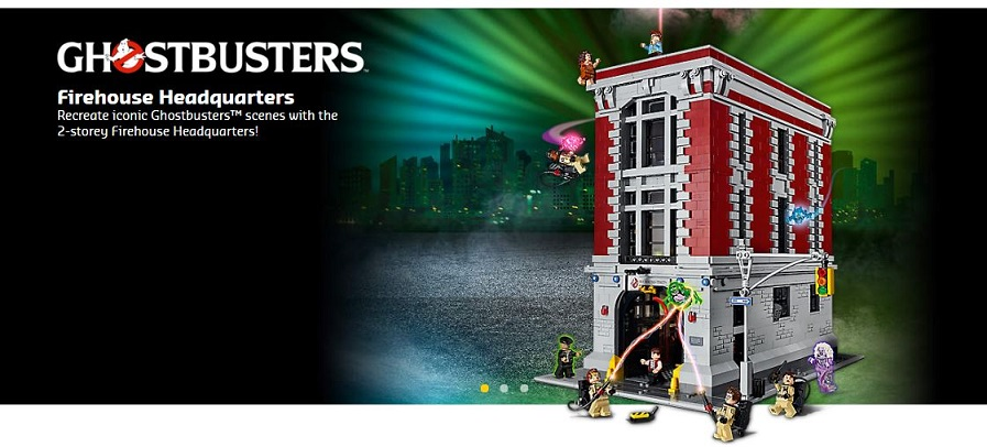 LEGO Store Ghostbusters Set Screenshot