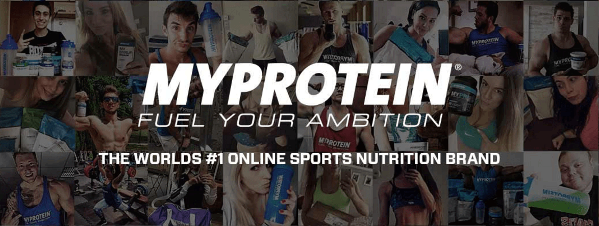 MyProtein Fuel Your Ambition #1 Sports Nutrition Brand