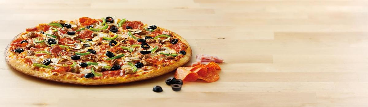 Delicious Papa John's Pizza