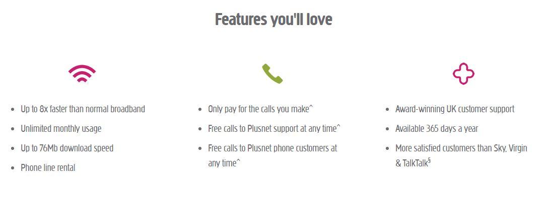 Plusnet Broadband Offers