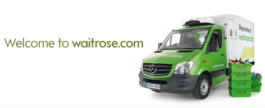 Waitrose Delivery Van