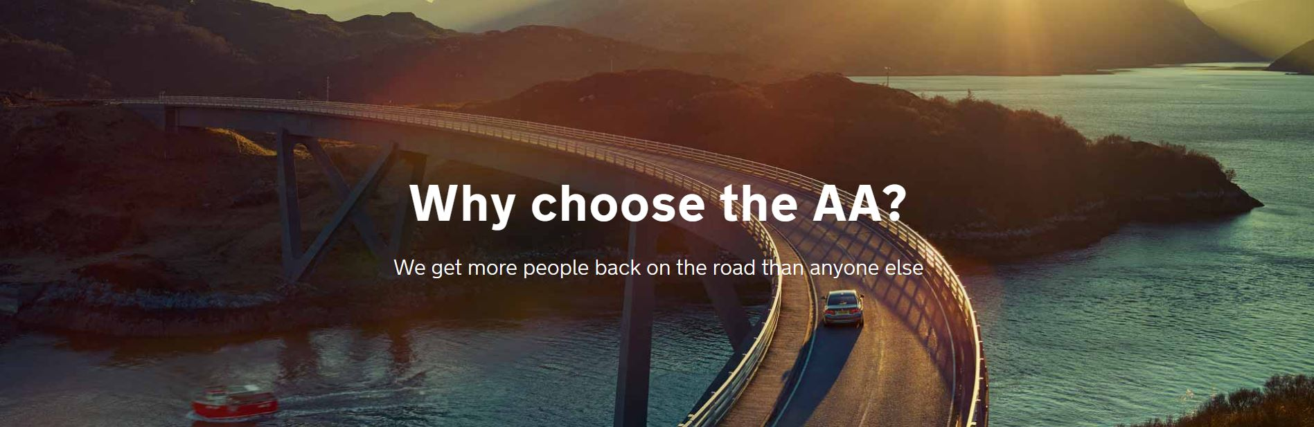 Why choose the AA UK Breakdown service?