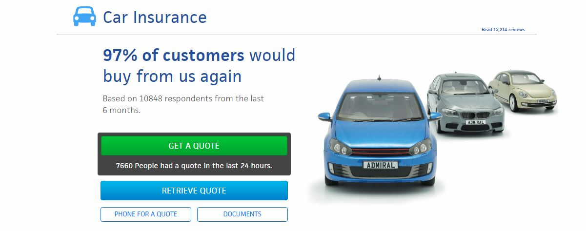 Admiral Car Insurance Quote