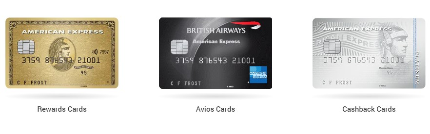 American Express Featured Cards