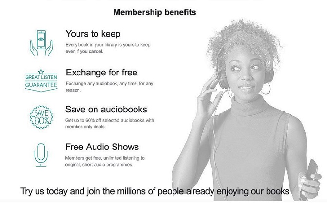 Audible Member Benefits
