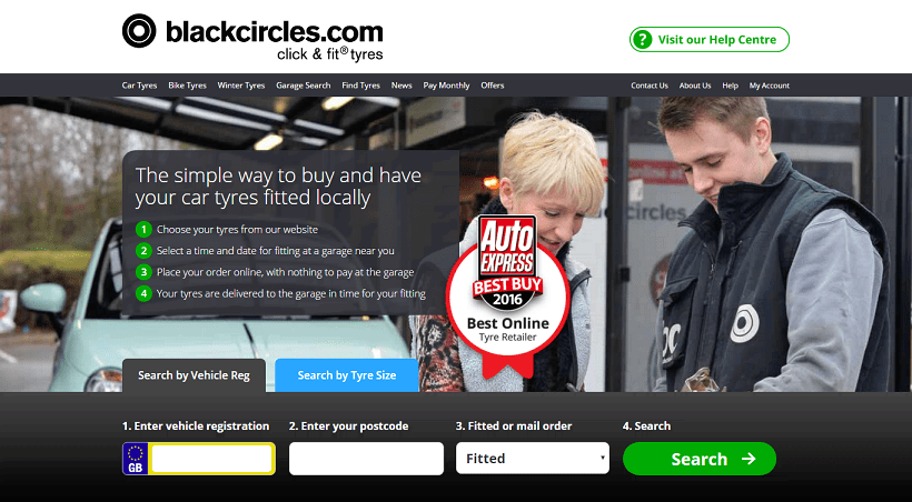 Black Circles Tyres Discount Codes, Sales, Cashback Offers