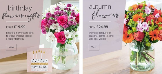 Blossoming flowers and gifts discounts codes sales cashback blossoming flower bouquets negle