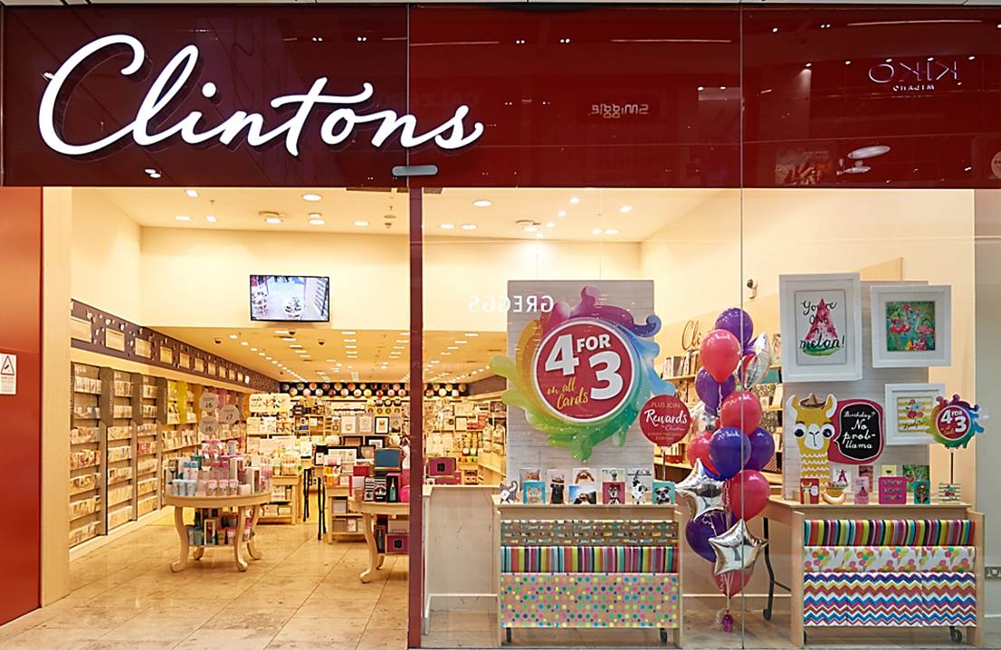 Clintons Store Photo