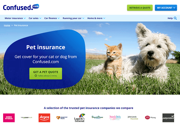 Confused.com Pet Insurance