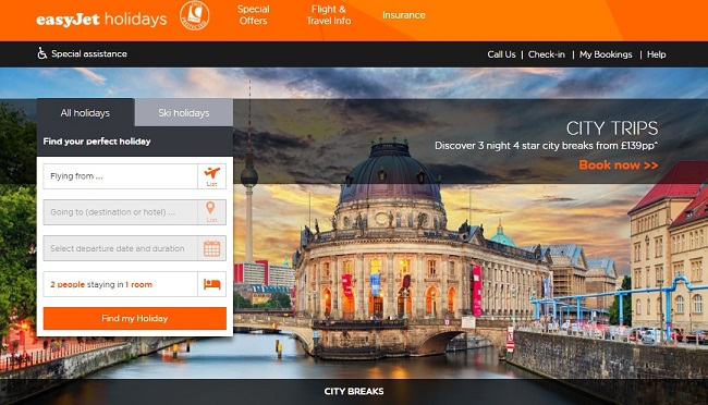easyJet Holidays City Breaks