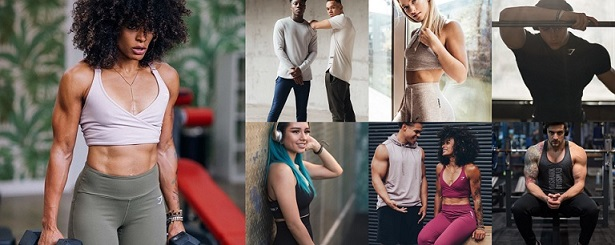 Gymshark Clothing