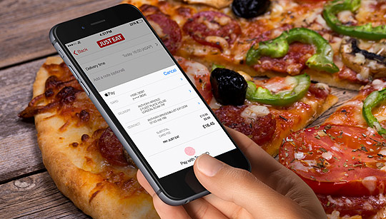 Just Eat Pizza Order