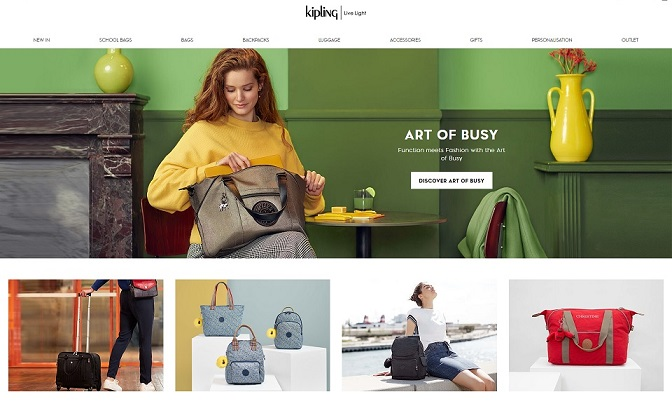 Kipling Homepage Screenshot