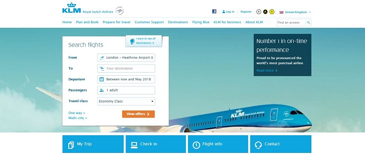 KLM Flights Black Friday Sale Discount Codes Cashback Offers - Invoice klm