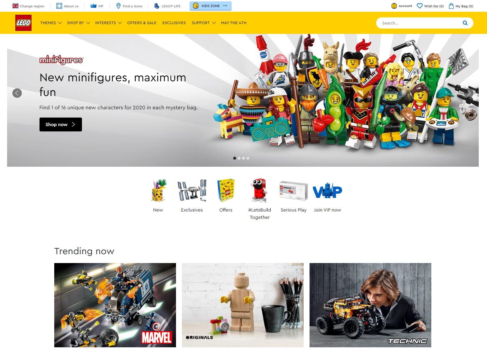 LEGO Homepage
